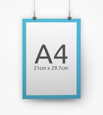 Plakaty A4